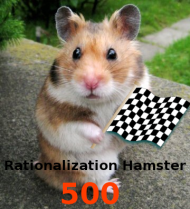 Rationalization Hamster 500