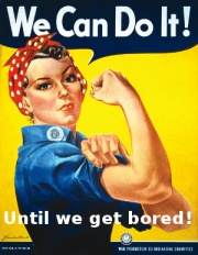We can do it!  Until we get bored.